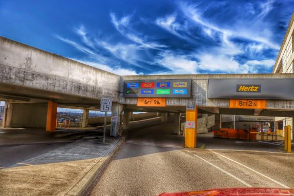 National Car Rental Return San Francisco International Airport
