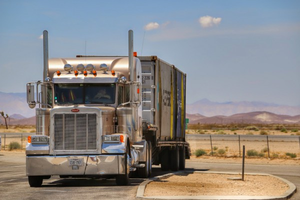 Grote trucks in Amerika