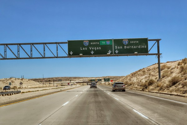 Interstate 15 North Las Vegas