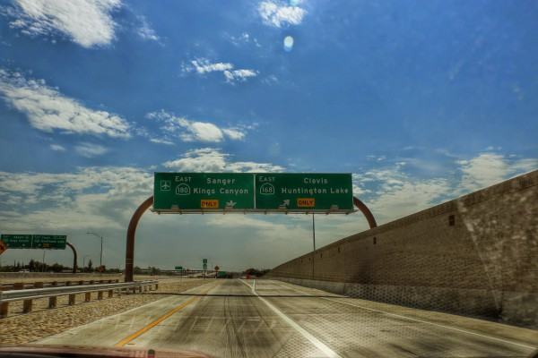 Route naar Kings Canyon 180