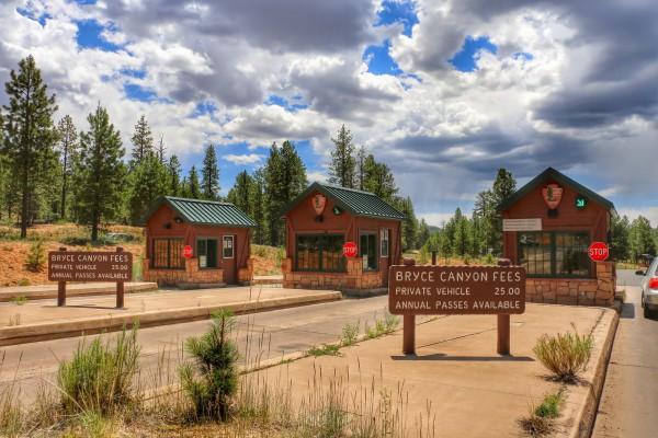 Route van Zion naar Bryce Canyon