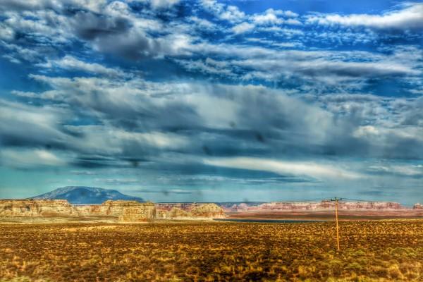 U.S. Route 89 richting Page - Arizona