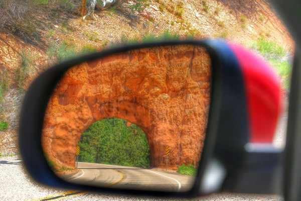 Utah's Scenic Byway 12 tunnel