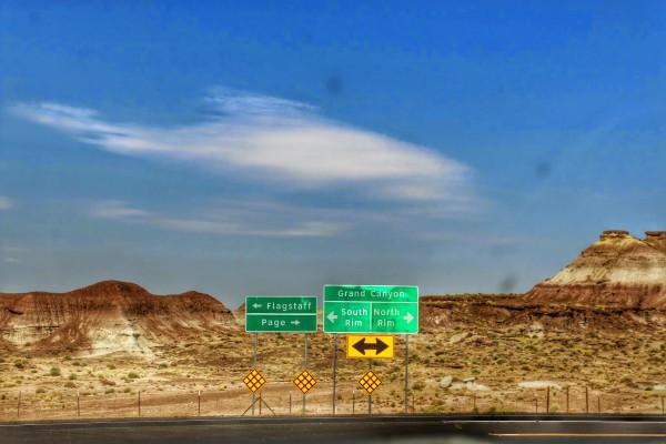 Van Monument Valley naar Las Vegas