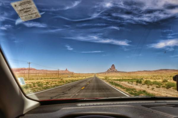 Van Page naar Monument Valley