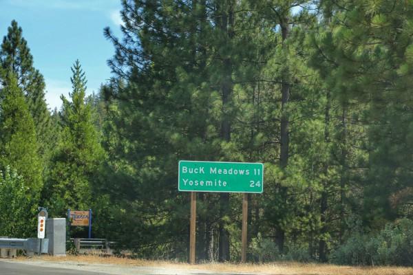 Yosemite National Park 24 miles