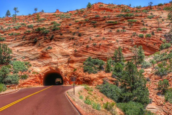 Zion National Park Route