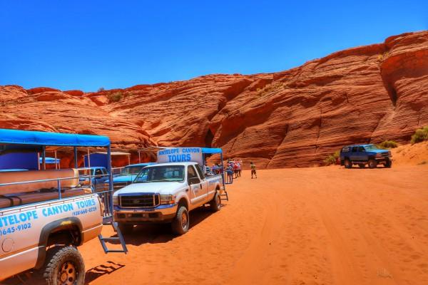 Antelope Canyon bezoeken