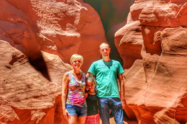 Antelope Canyon ingang