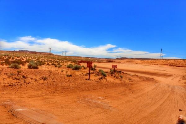 Ingang Antelope Canyon Park
