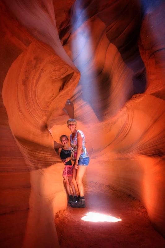 Met gids door Antelope Canyon