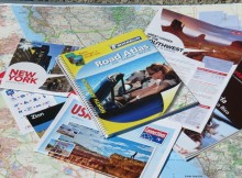 Voorbereiding rondreis Amerika