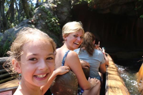 Disneyland Anaheim boomstammen