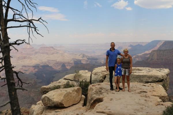 Grand Canyon met kind