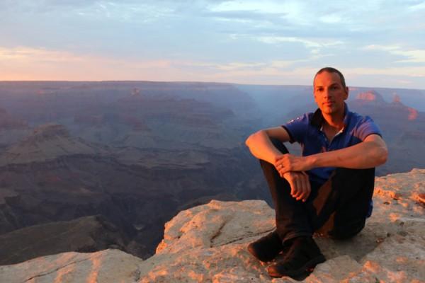 Grand Canyon zonsondergang 2014