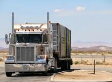 Las Vegas trucks onderweg