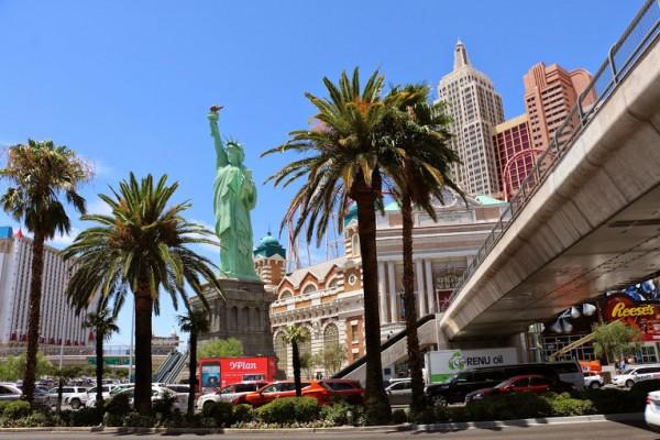 Las Vegas vrijheidsbeeld