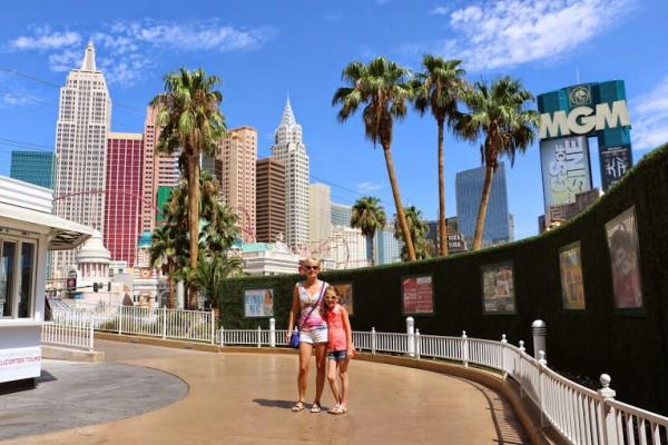 Las Vegas wandelen Strip