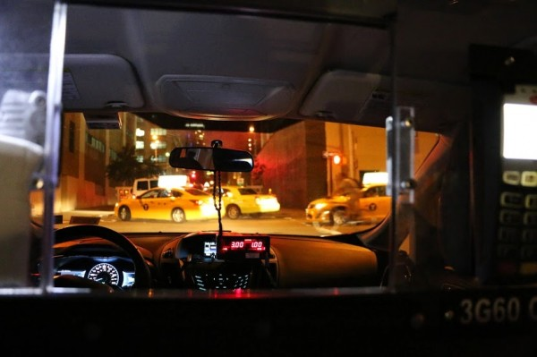Met de taxi in New York