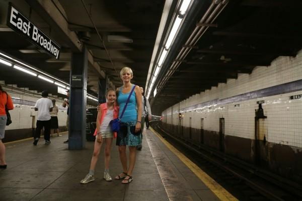 De metro in New York nemen