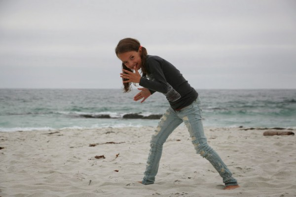 Monterey 17 mile drive strand