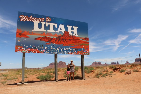 Monument Valley - Welcome to Utah