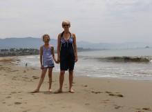 Santa Barbara strandwandeling