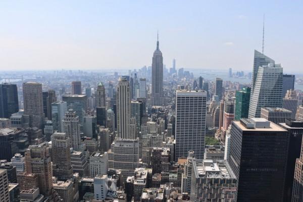 Panorama over New York