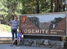 Yosemite National Park ingang