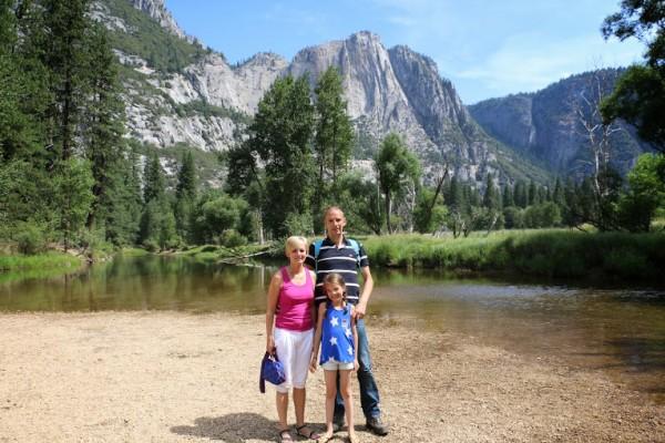 Yosemite rivier