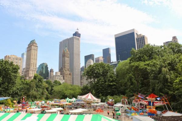 Central Park kermis