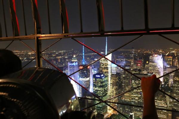 Empire State Building uitzicht