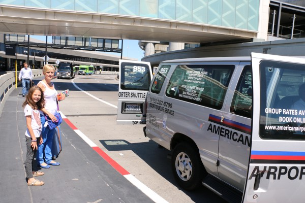 San Francisco Airport shared Van