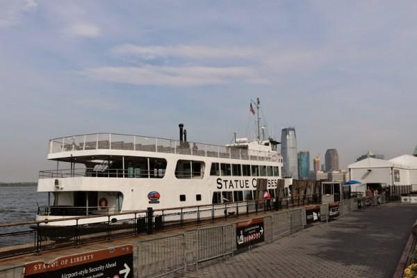 Cruise naar het Vrijheidsbeeld in New York