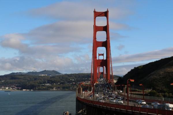 Reisverslag San Francisco Golden Gate bridge