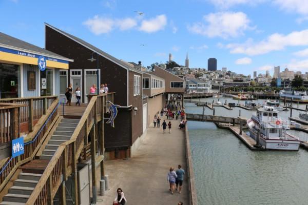Reisverslag San Francisco Pier39