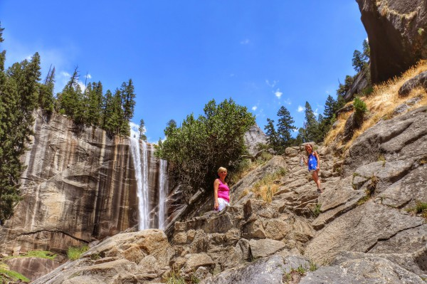 Waterval Yosemite wandeling