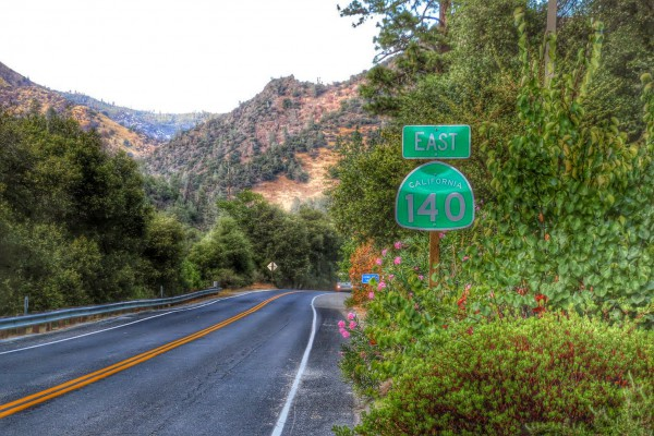 California highway 140