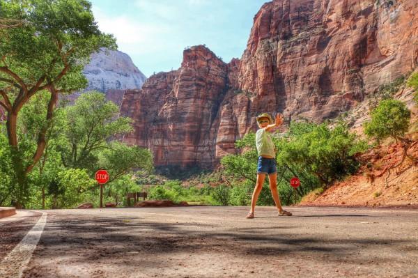 Autostop Zion National Park