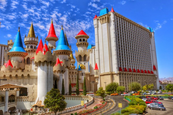 Las Vegas Castle hotel kasteel