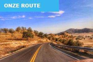 Route Rondreis West Amerika