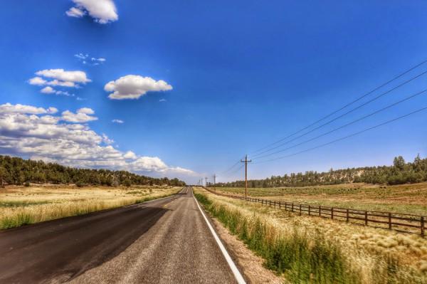 Route naar Zion Mountain Ranch