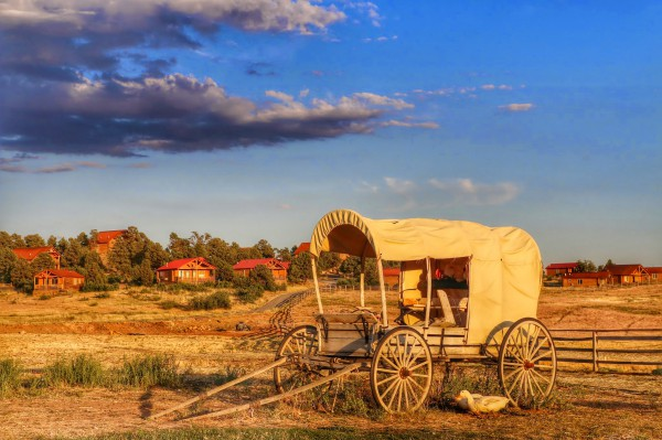 Zion Mountain Ranch huifkar