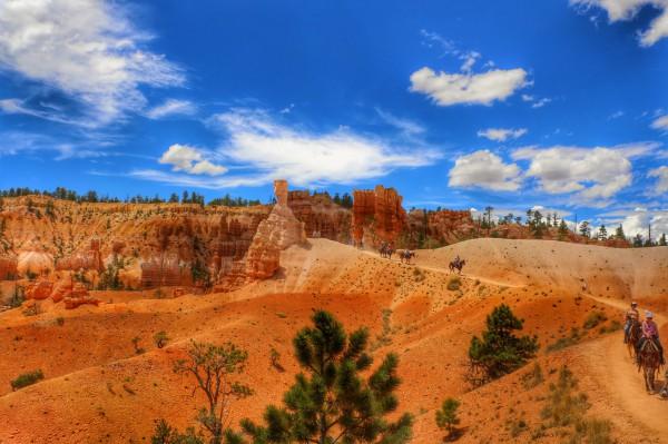 Bryce Canyon Paardrijden met kinderen
