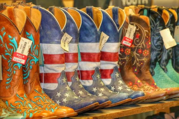 Cowboy laarzen kopen in Las Vegas