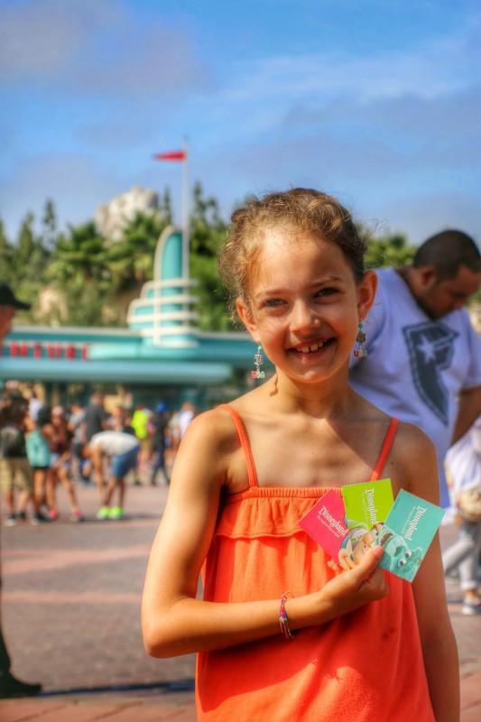 Disneyland Anaheim inkom Tickets