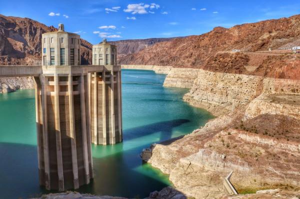 Hoover Dam stuwmeer