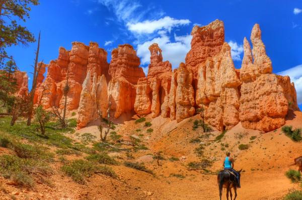 Horseback rides Bryce Canyon