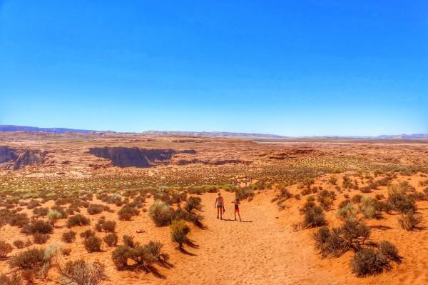 Horseshoe Bend wandeling