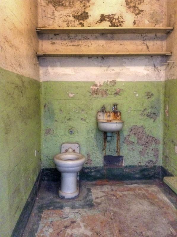 Toilet Alcatraz Island